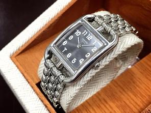 HERMES エルメス ケープコッド CC1.210 ステンレス 時計買取 質屋 高い 福岡 天神 博多