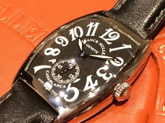 FRANCK MULLER フランクミュラー カサブランカ 7500S 時計買取 福岡 天神 博多 質屋 高い