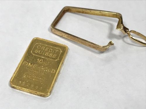 金 インゴットペンダントトップ K24 買取 合計11.5g