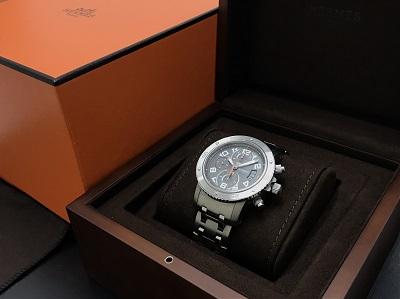 HERMES エルメス クリッパー・ダイバー クロノグラフ CP2.941 腕時計 高価買取 七条店