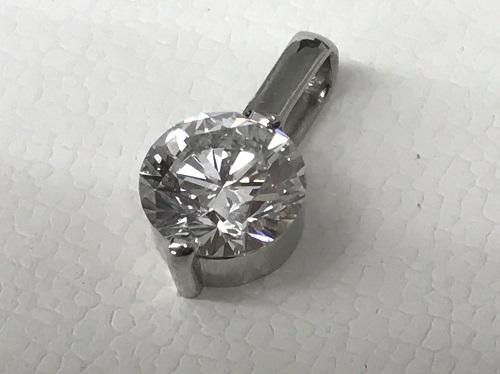ペンダントトップ プラチナ ダイヤモンド 1.12カラット