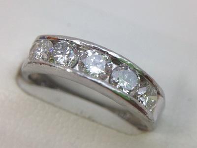 ダイヤモンドリング Pt900 0.95ct 5.1g 貴金属 宝石 北山 買取