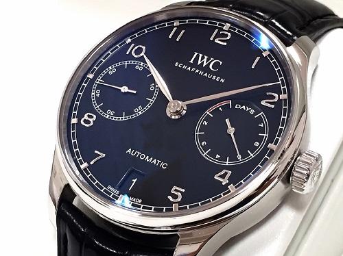 IWC インターナショナルウォッチカンパニー ポルトギーゼ IW500703 SS×レザー
