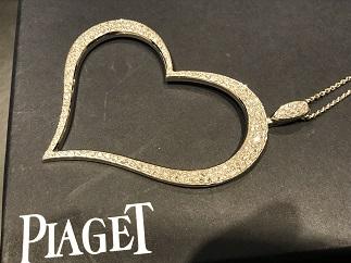 Piaget ピアジェ ライムライト ハートペンダント XL ダイヤモンド 750 ブランドジュエリー買取 福岡 天神 博多 質屋