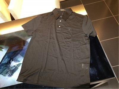 ベルルッティ ポロシャツ ♯R48 黒 コットン 未使用