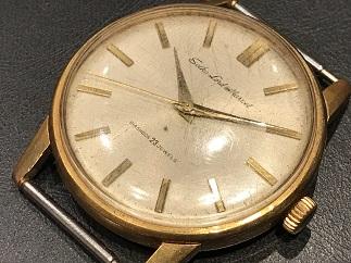 SEIKO セイコー ロードマーベル K18 アンティーク 時計買取 福岡 天神 博多 質屋