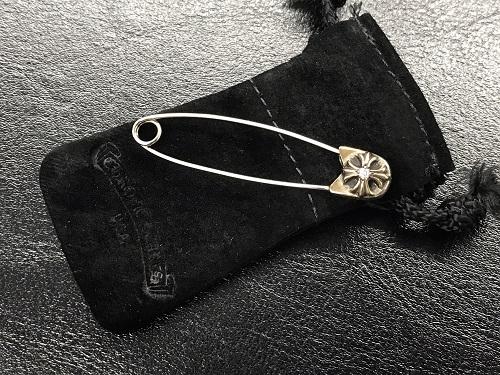 クロムハーツ (CHROME HEARTS) セーフティーピン ラージ ダイヤモンド 925