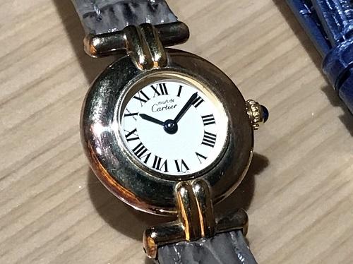 カルティエ Cartier マストコリゼヴェルメイユ 590002 SV925 時計買取 渋谷