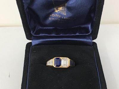 ヴァンクリーフ&アーペル(VanCleef&Arpeles) サファイヤ 1.96ct ダイヤモンド 1.61ct リング 750 ヴァンクリーフ買取 三宮 元町 神戸