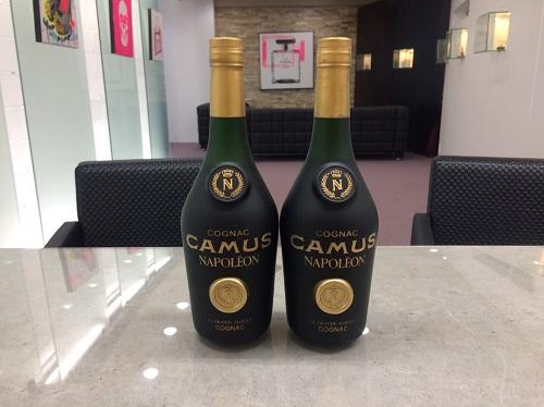 カミュ(CAMUS) ナポレオン ブランデー 700ml 2本 北山 買取