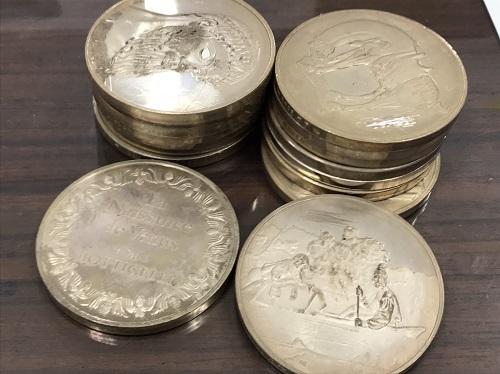 銀買取 SV925 メダル 1056.2g シルバー買取マルカ(MARUKA)