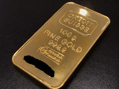 K24 純金 インゴット 100g 地金 高価買取 七条店