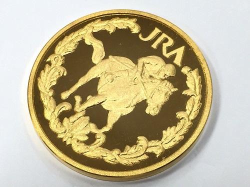 メダル 記念硬貨 JRA K24 純金 金貨 77.6g