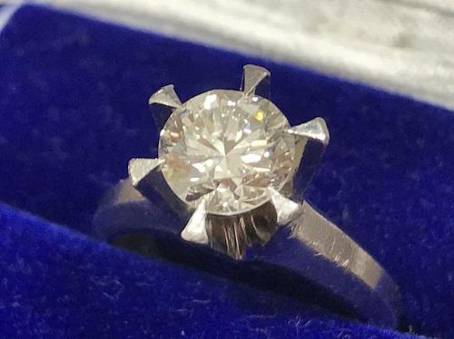 ダイヤモンド 1.51ct プラチナ台買取 ダイヤモンド買取マルカ(MARUKA)