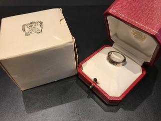 Cartier カルティエ ラブリング ホワイトゴールド ブランドジュエリー買取 福岡 天神 博多 質屋
