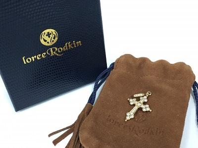 ローリーロドキン(Loree Rodkin) ゴシッククロスペンダント 18K ダイヤモンド ロドキン買取 三宮 元町 神戸