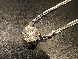 ダイヤモンド プラチナペンダント Pt850 2.29ct J I1 MB ジュエリー 宝石買取 高い 福岡 天神 博多 質屋