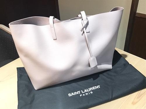 サンローラン(Saint Laurent) サックショッピング レザー トートバッグ 買取 渋谷