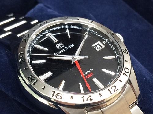 グランドセイコー(GRAND SEIKO) メカニカル SBGM027 9S66-00B0 GMT 出張買取