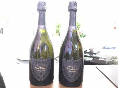 ドンペリニヨン P2 1998 (Dom Perignon P2 1998) 2本 お酒買取 三宮 元町 神戸
