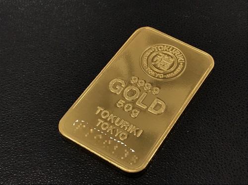 純金インゴット 徳力 K24 50.0g インゴット買取マルカ(MARUKA)