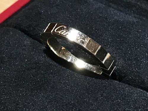 カルティエ(CARTIER) ラニエールリング 指輪 750 ジュエリー 宝石