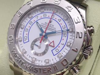 ロレックス ヨットマスターII Rer.116689 ランダム品番 白文字盤 高額モデルも高価買取