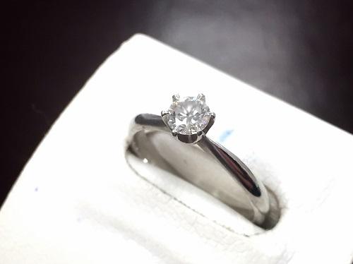 ダイヤモンド プラチナリング買取 0.364ct Pt900 ダイヤモンド買取マルカ(MARUKA)