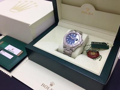 ROLEX ロレックス ヨットマスター Ref.116622 コンビ 腕時計 高価買取 七条店