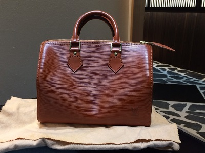 ルイヴィトン スピーディ25 エピ ケニアブラウン M43016  20年以上前のバッグ