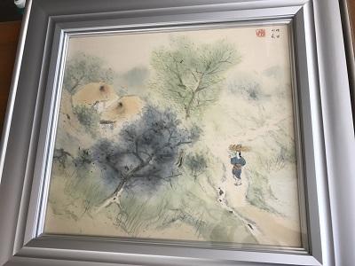 堂本印象 楽しき家 絵画 10号 出張買取 高価買取