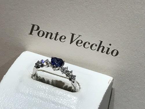 ポンテヴェッキオ (Ponte Vecchio) ジュエリー リング 指輪 サファイア(SAPPHIRE) ダイヤモンド(DIAMOND)