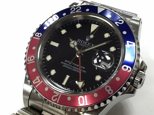ロレックス(ROLEX)GMTマスター 16700 SS 時計 中古美品