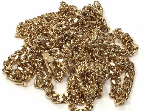 地金 18金 ネックレス 喜平 貴金属
