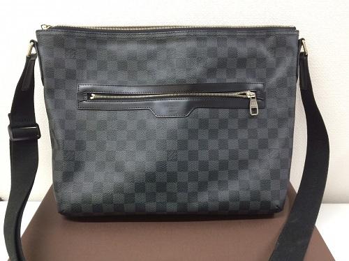 ルイヴィトン Louis Vuitton ミックGM グラフィット N41105 買取 銀座