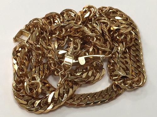 地金 ネックレス 18金 K18 750 喜平 貴金属 金