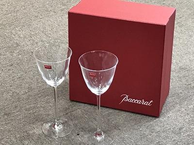 バカラ(BaccaratCrystal) ワイングラスセット 箱付 バカラ買取 三宮 元町 神戸