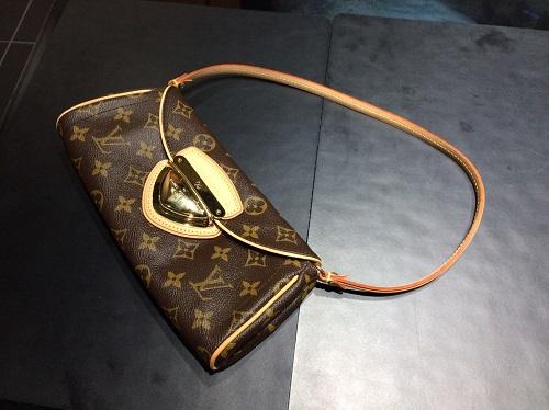 ルイヴィトン Louis Vuitton ポシェットビバリー M40122 モノグラム 買取 渋谷