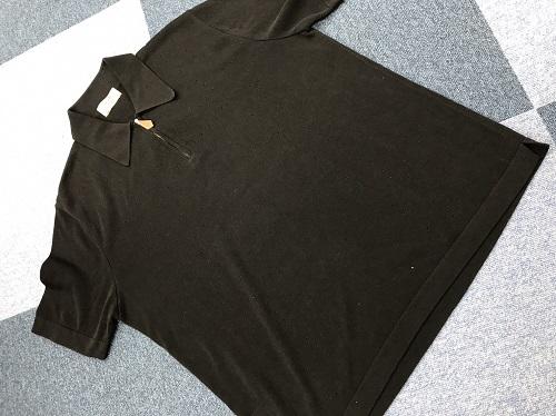 エルメス(HERMES) ポロシャツ ブラック #L 四条 買取