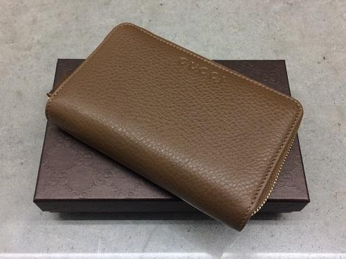 グッチ(GUCCI) コンパクト財布 レザー アウトレット 新品 出張買取