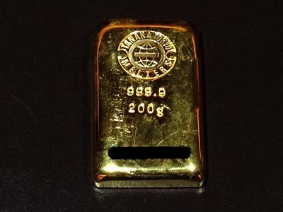 K24 純金 インゴット 100g 地金 貴金属 資産 高価買取 七条店