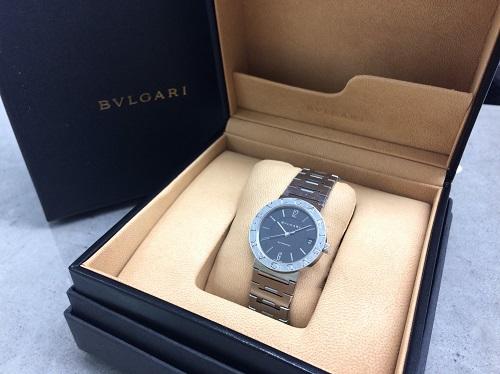 ブルガリ(BVLGARI)ブルガリブルガリ ステンレス メンズ時計 付属品完備 北山店 上京区 北区