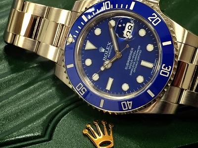 ロレックス サブマリーナ Ref.116619LB  ブルー ランダム品番 ロレックス高価買取