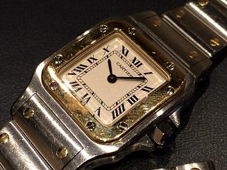 Cartier カルティエ サントスガルベSM 時計買取 福岡 天神 博多 質屋