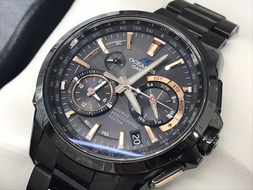 カシオ オシアナス チタン CASIO 腕時計 メンズ