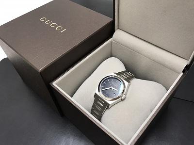 GUCCI グッチ パンテオン SS ステンレス 腕時計 Ref.115.4 高価買取 出張買取