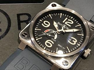 Bell&Ross ベル&ロス アビエーション ウォッチ BR01-97 時計買取 福岡 天神 博多 質屋