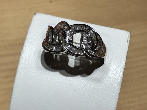 指輪 リング プラチナ ダイヤモンド(DIAMOND) 宝石 ジュエリー