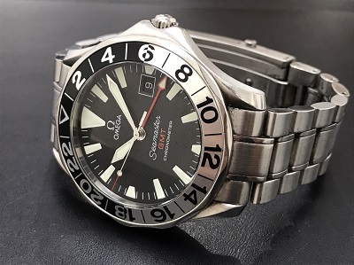 OMEGA オメガ シーマスターGMT ジェリー・ロペス Ref.2536.50 腕時計 高価買取 出張買取