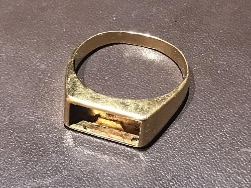 金 指輪 リング K18 750 6.2g 石取れ 買取 価格高騰 渋谷 マルカ